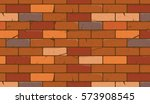 brick wall texture cartoon...   Shutterstock .eps vector #573908545