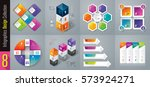 infographics design vector and... | Shutterstock .eps vector #573924271