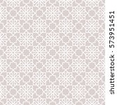 abstract pattern in arabian... | Shutterstock .eps vector #573951451