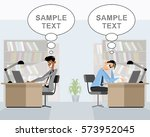 vector illustration of a two... | Shutterstock .eps vector #573952045