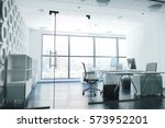 Modern Business Office Room...