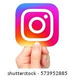 kiev  ukraine   january 20 ...   Shutterstock . vector #573952885