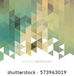 vector abstract color geometric ... | Shutterstock .eps vector #573963019