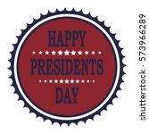 banner. day president. flat... | Shutterstock .eps vector #573966289