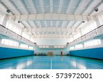 Interior Of A Sport Hall For...