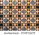 mexican tile background  | Shutterstock . vector #573972679