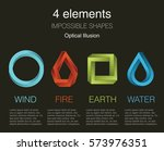 nature infographic elements on...