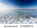Frozen Lake Balaton With...
