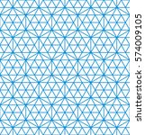 simple geometric pattern.... | Shutterstock .eps vector #574009105