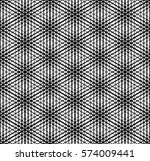 simple geometric pattern.... | Shutterstock .eps vector #574009441
