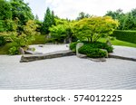 japanese zen garden | Shutterstock . vector #574012225