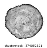 rough aged wood textured tree... | Shutterstock . vector #574052521