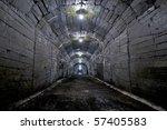 dark tunnel | Shutterstock . vector #57405583