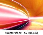 greased light on high speed... | Shutterstock . vector #57406183