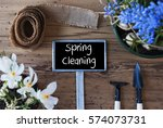 Flowers  Sign  Text Spring...