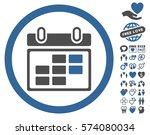 month calendar icon with bonus... | Shutterstock .eps vector #574080034