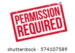 permission required rubber... | Shutterstock . vector #574107589