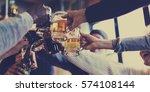 craft beer booze brew alcohol...   Shutterstock . vector #574108144