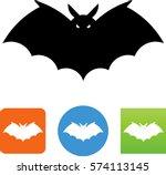 bat symbol   Shutterstock .eps vector #574113145