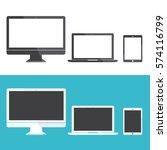 technology digital device icon...