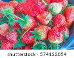 ripe berries and foliage...   Shutterstock . vector #574132054