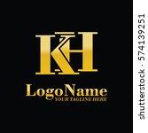 kh logo | Shutterstock .eps vector #574139251