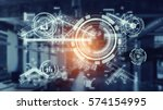 innovative technologies for... | Shutterstock . vector #574154995