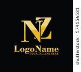 nz logo | Shutterstock .eps vector #574156531
