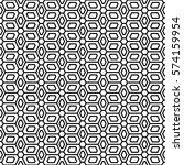 art deco seamless background. | Shutterstock .eps vector #574159954
