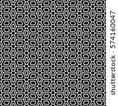 art deco seamless background. | Shutterstock .eps vector #574160047