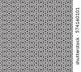 art deco seamless background. | Shutterstock .eps vector #574160101
