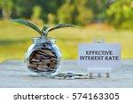 business concept   money in... | Shutterstock . vector #574163305
