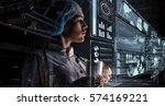 innovative technologies in... | Shutterstock . vector #574169221