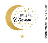 vector postcard with text have... | Shutterstock .eps vector #574171309