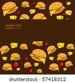fast food | Shutterstock .eps vector #57418312