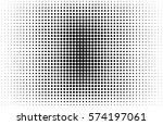 halftone background texture... | Shutterstock .eps vector #574197061