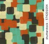 seamless pattern. disorderly...   Shutterstock .eps vector #574201054