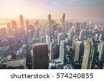 chicago skyline  usa | Shutterstock . vector #574240855