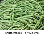 Large Pile Of French Beans On...