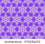 seamless floral geometric...   Shutterstock .eps vector #574256221