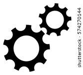 vector illustration of gear...   Shutterstock .eps vector #574270144