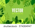 vector illustration in trendy... | Shutterstock .eps vector #574304947