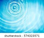 Circle Water Ripple Wave...