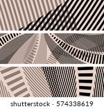 bookmark background set with a... | Shutterstock .eps vector #574338619