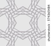 abstract background with lines... | Shutterstock .eps vector #574365484