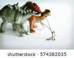 walking dinosaurs | Shutterstock . vector #574382035