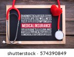 medical insurance general... | Shutterstock . vector #574390849