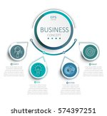 vector illustration infographic ... | Shutterstock .eps vector #574397251
