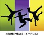 break dancer | Shutterstock .eps vector #5744053