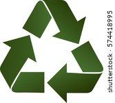 vector illustration of green... | Shutterstock .eps vector #574418995